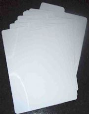 Comic Dividers x10 Comicare White Acid Free